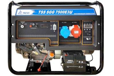 Бензогенератор TSS SGG 7500Е3U